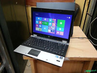 "HP EliteBook 14.1""LAPTOP, Intel Core i3 2.53GHz, 4GB, 250GB, WIFI, WEBCAM, BLUETOOTH, DVD, OFFICE"