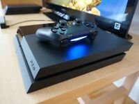 BLACK PS4 500gb Good condition with fan £150 CASH OR SWAP FOR XBOX AND FORZA