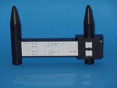 Wheel Bolt Pattern Gauge Tool 4 5 6 8 Lug Pattern Quick Measure Slide Hand Held
