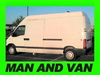 **** MAN + VERY LARGE VAN - £25 P/H FIXED PRICE ****