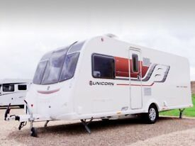 March 2017 Bailey Unicorn Vigo, Very High Spec Top of the Range Like New, Used 4times From New.