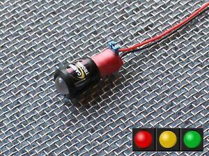 12v LED Battery level / Charge monitor Indicator Alternator warning light lamp