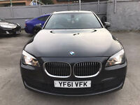 2012 61 HPI CLEAR BMW 730D M SPORT AUTO FULL SERVICE HISTORY IMMACULATE 4dr GREY