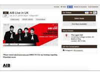 AIB Live in UK 21 July