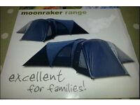Family Tent sleeps up to 9 people