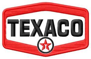 Texaco logo ecusson brodé patche Thermocollant iron-on patch - Poznan, Polska - Zwroty są przyjmowane - Poznan, Polska