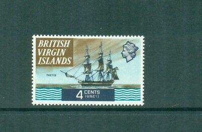 British Virgin Islands 1970 4c Thetis 1827 Ship  MNH SG 244