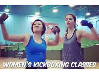 Women's Kickboxing Classes HERSHAM
