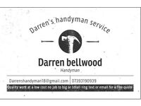 Darren's handyman service