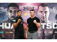 4 x Anthony Joshua Vs Wladimir Klitschko Tickets - Sat 29th April - 4 TICKETS!! - GREAT SEATS