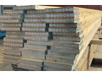 Scaffolding boards, wood, timber, 3.9m long, NEW