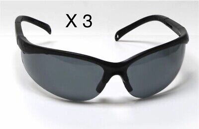 Lot Of 3 Tinted Safety Glasses Sunglasses Performax Ansiz87.1 Certified
