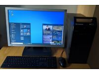 "Lennovo Windows 10 Pro PC Computer 22"" Monitor Complete System! 3GHz/WIFI/4GB RAM/500GB/Monitor"
