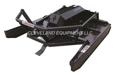 New 72 Extreme-duty Open Front Brush Cutter Attachment Skid-steer Loader Mower