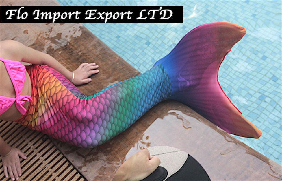Costume Coda Sirena Girl and Woman Swimsuit Mermaid Tail Mare Piscina SM0004 P