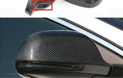 Audi A3 A4 A5 A6 Carbon Fiber Rear View Mirror cover Housing with Lane Assist
