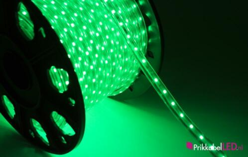 led strip waterdicht led verlichting strip groen 50 meter