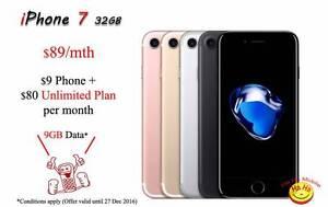 New Unlocked iPhone 7 Unlimited National Calls 9GB DATA Auburn Auburn Area Preview