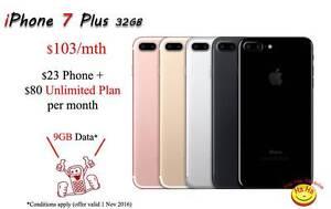 New iPhone 7 Plus Rose Gold, Silver, Gold, Black, Jet Black Auburn Auburn Area Preview