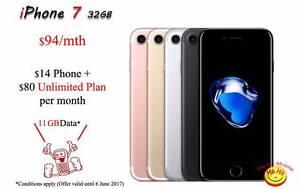 New Unlocked iPhone 7 Unlimited National Calls 11GB DATA Auburn Auburn Area Preview