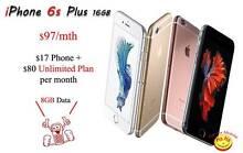 New Unlocked iPhone 6s Plus Unlimited Infinite 10 Countries Calls Auburn Auburn Area Preview