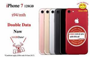 New Unlocked iPhone 7 128 GB Unlimited National Calls 16GB DATA Auburn Auburn Area Preview
