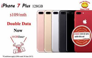 Brand New iPhone 7 Plus 128GB with 24 Months Contract Auburn Auburn Area Preview