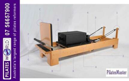 PILATES MASTER | COMMERCIAL WOOD PILATES REFORMER PACKAGE DEAL