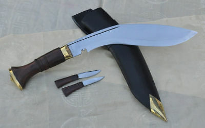 "11"" World War II Gurkha Kukri knife,Kukris,Khukri,Rose,Wooden handle GK&CO.Kukri"
