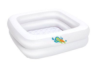 Bestway 51116 Badewanne Baby Tub 86x86x25 cm Pool Plansch Bade Becken Sitzwanne