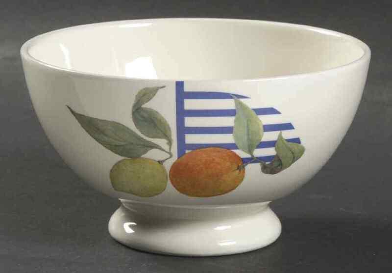 Faiencerie De Gien La Ronde Des Fruits Cereal Bowl 1238845