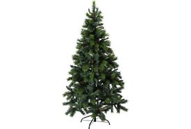 7 FT LUXURY CHRISTMAS TREE AND HUGE BOX OF DECORATIONS + 3 SMALLER 3FT TREES, QUICK SALE NEEDED