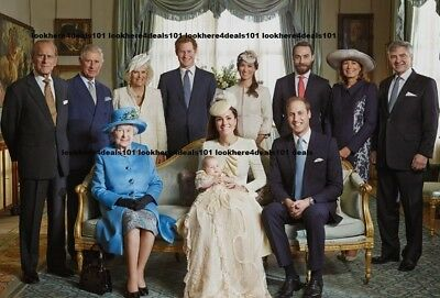 Kate Middleton Photo 5X7 Prince William George Harry Queen Elizabeth Free Ship