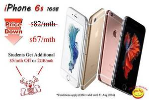 Limited Time offer $67 per month Contract Apple iPhone 6s 16GB Auburn Auburn Area Preview
