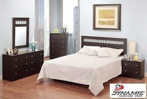 Cappuccino Queen Bedroom Set! Starting from only $348!