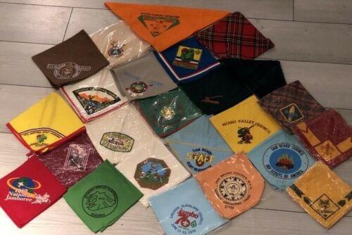Vintage Boy Scout Neckerchief collection