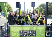 Anthony Nolan RideLondon 2016 Cheerpoint in Kingston, Surrey