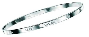 Sterling-Silver-Ladies-Love-Life-Laugh-Bangle-hallmarked-92-5-sterling-silver