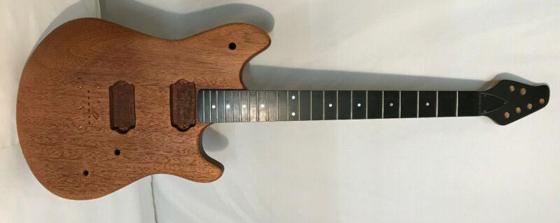 EVH Wolfgang VAN HALEN style/shape Mahogany Guitar Body w/ Ebony CARVIN neck