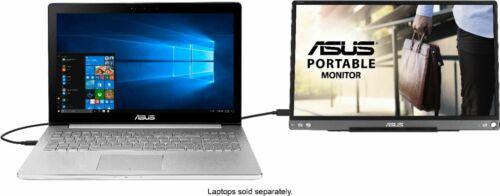 ASUS - ZenScreen 15.6Portable Monitor (USB) - Dark Gray