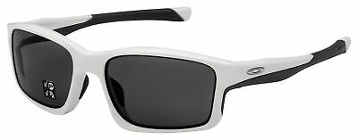 Oakley Chainlink Sunglasses OO9247-0757 Matte White | Grey Polarized (Oakley Sunglasses Lenses Polarized)