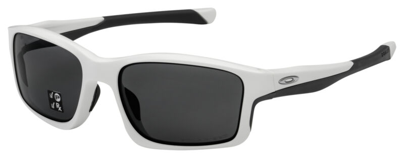 Oakley Chainlink Sunglasses OO9247-0757 Matte White | Grey Polarized Lens