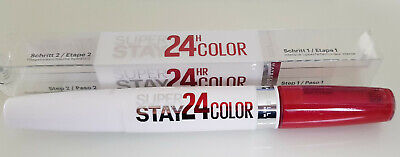 Maybelline New York Superstay 24H Color Lippenstift 515 Blazing Red