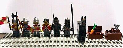 Lego Midevil Knights Mini Figure 6 Figure Set plus Accesories
