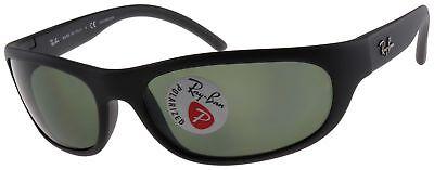 Ray-Ban Predator Sunglasses RB4033 601S48 Black | Green G-15 Polarized Lens 60mm