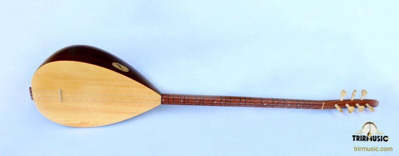TURKISH QUALITY LONG NECK WALNUT BAGLAMA SAZ STRING MUSICAL INSTRUMENT ASL-202