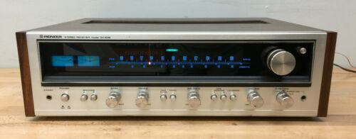 Pioneer SX-636 Receiver - Tested/Serviced, Working. Recap/LEDs. Read Description