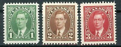 Stamps Canada, Scott # 231-233 Mint NH