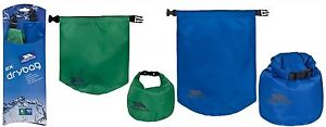 Trespass-Pack-of-2-DRY-BAGS-5L-10L-Waterproof-Dry-Sacks-Lightweight-Roll-Top
