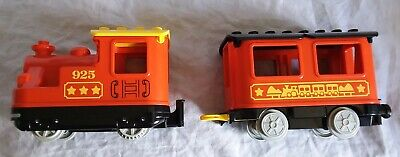 Lego Duplo 925 red stream train battery powered good used condition